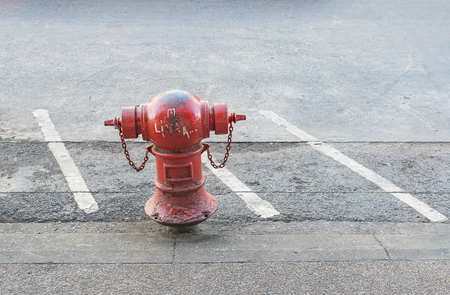 junction pipe: Red pipes or red fire hydrant
