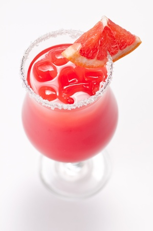 Tasty fresh cocktail with grapefruit  photo