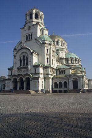 Cattedrale di Alexander Nevski Archivio Fotografico