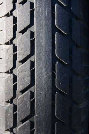 Texture of a real tyre