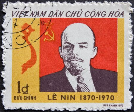 Post stamp from Vietnam 1973 Editorial