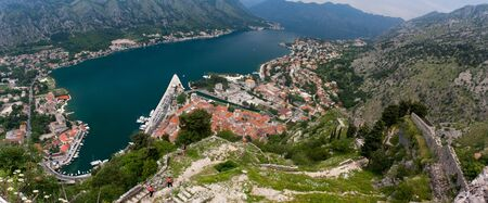 The town of Kotor, Montenegro, Europe Stock Photo