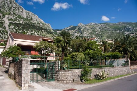 La citt� di Kotor, Montenegro, Europa Archivio Fotografico