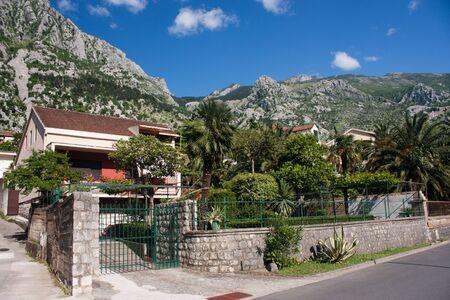 The town of Kotor, Montenegro, Europe Stock Photo