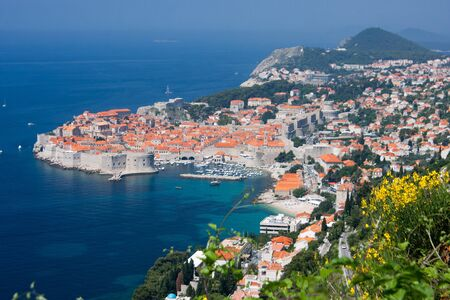 The town of Dubrovnik, Croatia, Europe