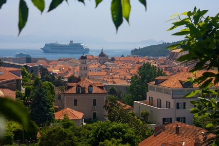 The town of Dubrovnik, Croatia, Europe