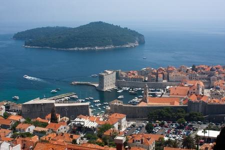 La citt� di Dubrovnik, Croazia, Europa
