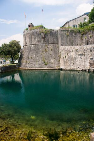 The town of Kotor, Montenegro, Europe Editorial