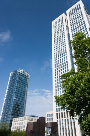 Un nuovo edificio moderno della citt�.