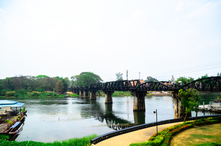 Iron bridge is a landmark (Landmarks and Memorials in Thailand), and the most important is the virtual symbol of Kanchanaburi (Kanchanaburi visit) at the same time.