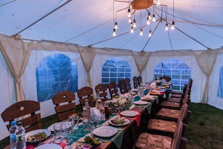 decor: wedding decor, table guests