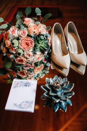 wedding bridal bouquet 写真素材 - 119002581