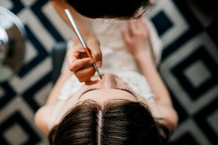 wedding makeup and makeup tools 写真素材