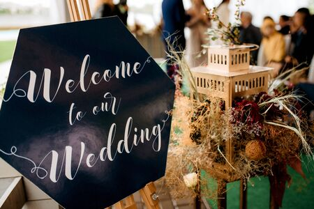 wedding decor with natural element