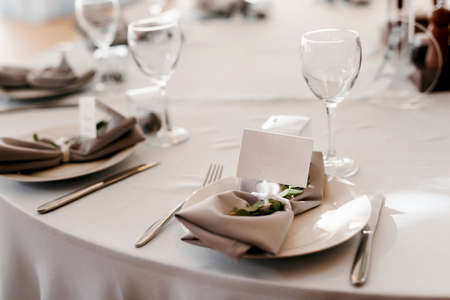 wedding decor for table with natural element