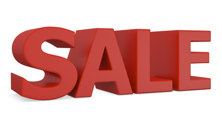 single word: single word - SALE  3d Stock Photo