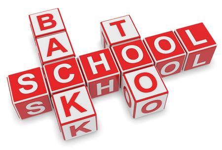 crossword: Back to School Crossword 3d