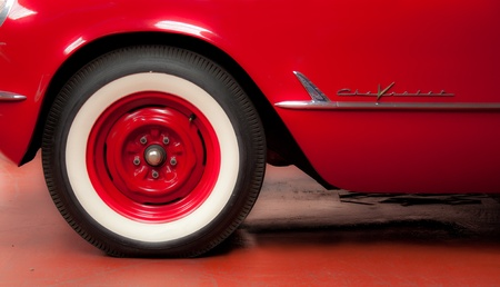 the details of the old car