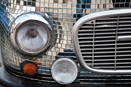 details of classic cars Stock Photo - 13189456