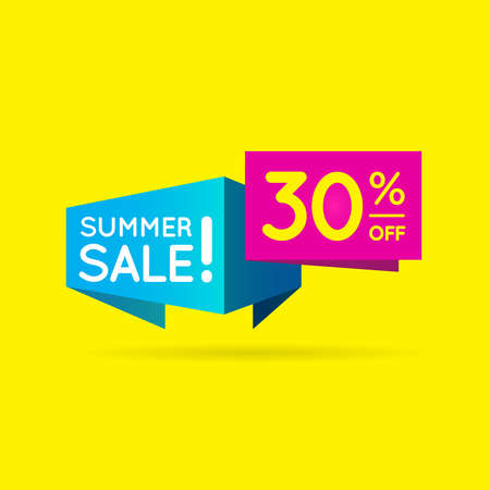 Business Sell 30% Offer shape  Sell shape to best offer your product