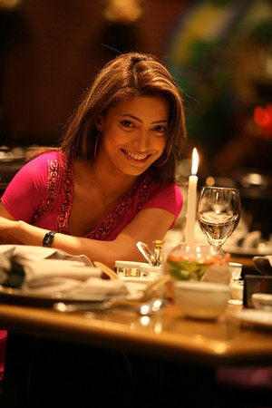 Woman in a romantic dinner Stock Photo - 7918602