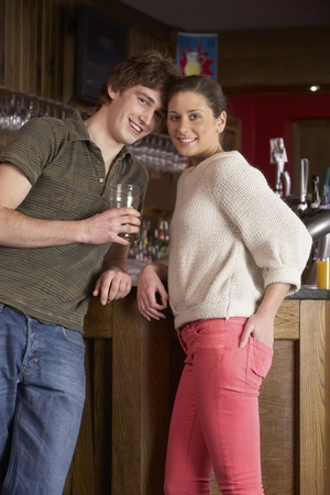 date night: Young couple in love