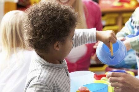 daycare: Children in nursery