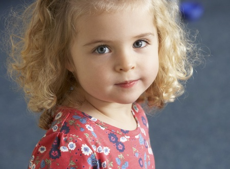 four year old: Portrait of pretty girl Stock Photo