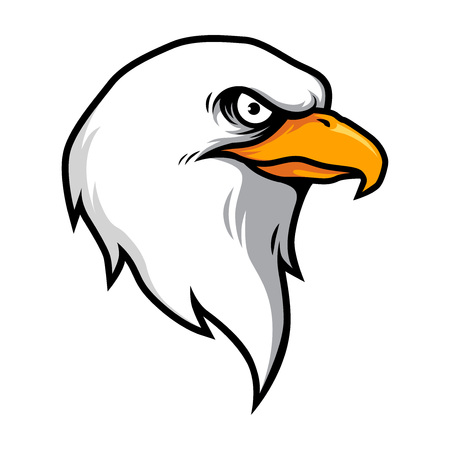 American Eagle Head Vector