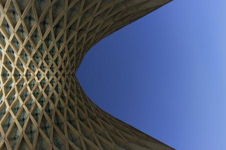 Azadi Tower in middle of Azadi square in Tehran