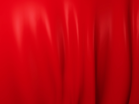 Smooth silk red background photo