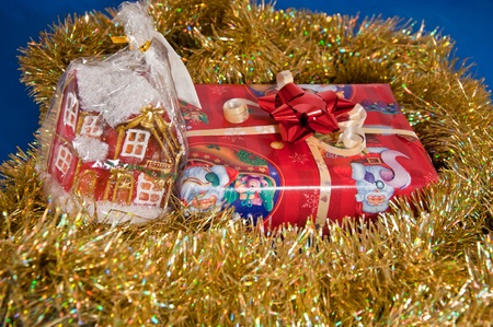 year        s: Capodanno s regalo Archivio Fotografico