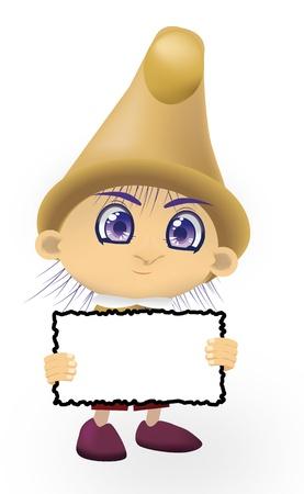 The fantastic gnome Stock Vector - 18212467