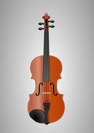 vector violin Stock Vector - 19146939