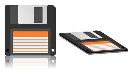 magnetic clip: Floppy Disk Icon