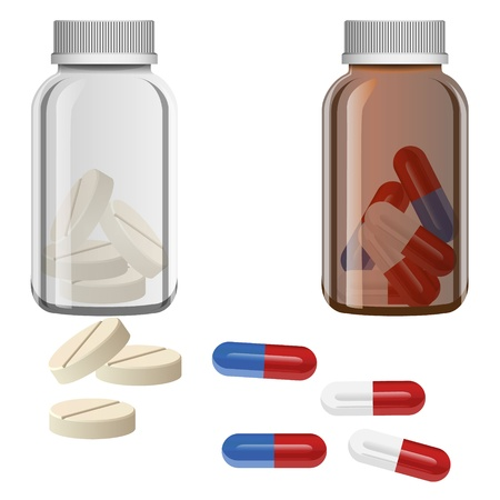 pill vector Stock Vector - 19843997