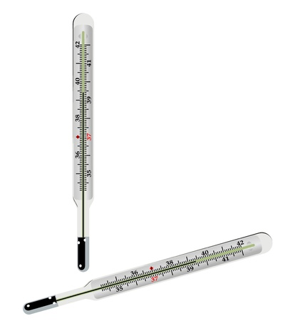 thermometer vector Stock Photo - 19843995