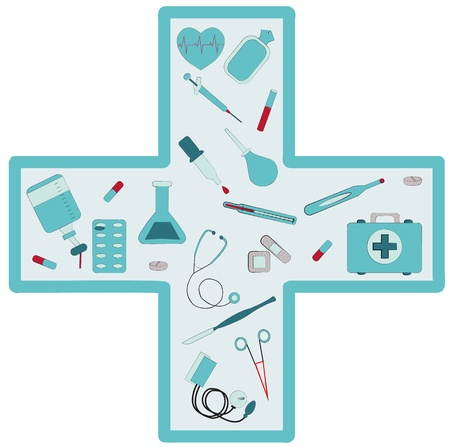 medical set Stock Vector - 19844006