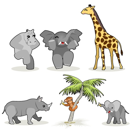 African animals Stock Vector - 20081104