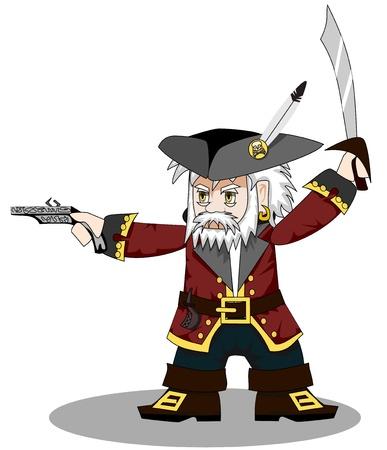 braqueur: pirate