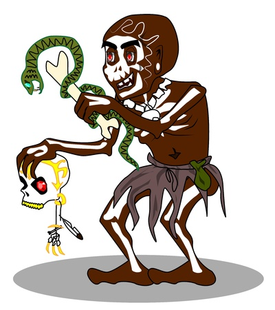 cult tradition: Voodoo shaman