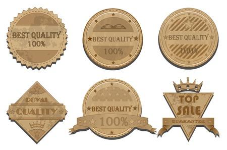 Badges vector set Vector