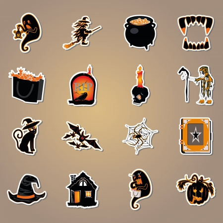 Halloween icon vector Vector