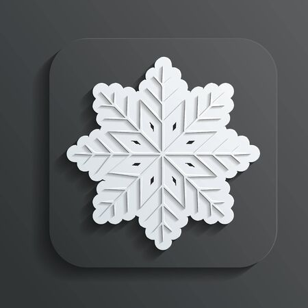 icon snowflake vector Stock Vector - 22526836