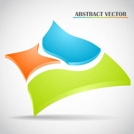 abstract squares vector Stock Vector - 22526851