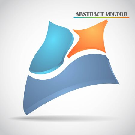 abstract squares vector Stock Vector - 22680869
