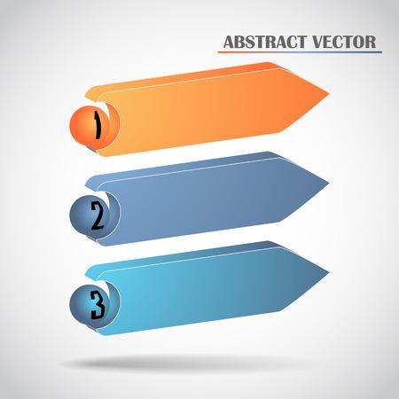abstract arrows vector Vector