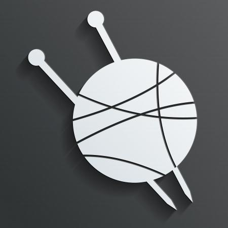 tangle of spokes vector Vector
