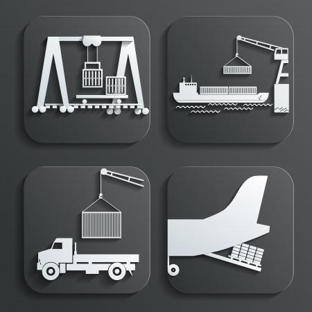 reach truck: shipment set