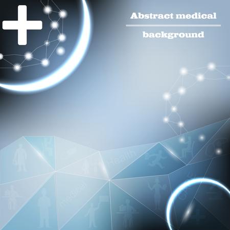 ocupation: medical bacground vector Illustration